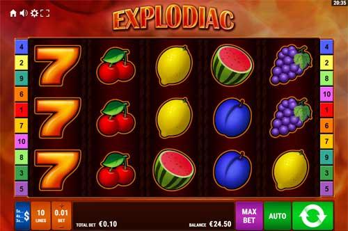 Explodiac slot