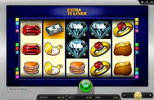 Extra 10 Liner free slot