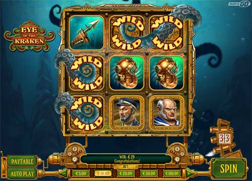 Eye of the Kraken free slot