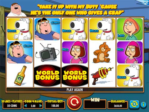 Family Guy Online Slot for Real Money - Rizk Casino Slots