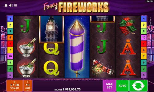 Fancy Fireworkssymbol upgrade slot