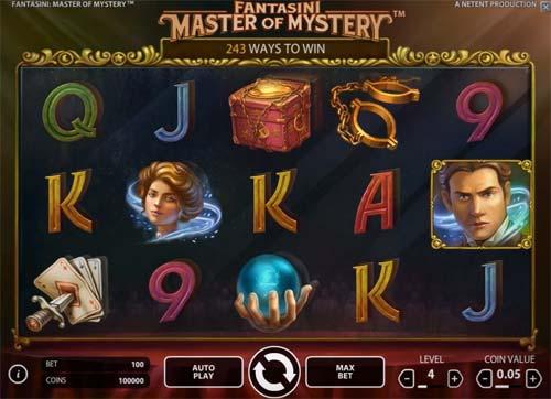 Fantasini Master of Mystery free slot