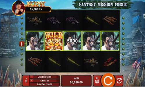 Fantasy Mission Force free slot