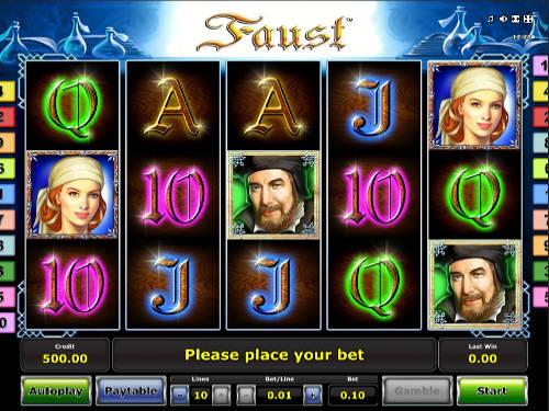 Faust free slot