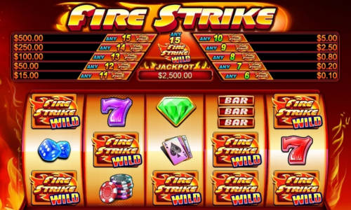 Fire Strikejackpot slot