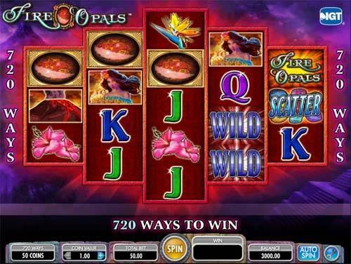 Fire Opals free slot