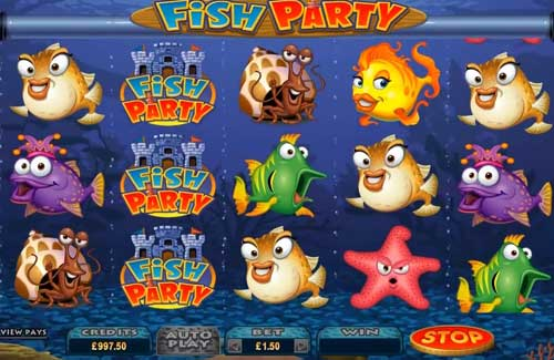 Fish Party free slot