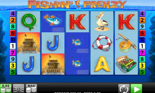 Fishin Frenzy casino slot