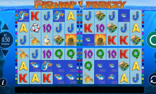 Fishin Frenzy Power 4 Slots free slot