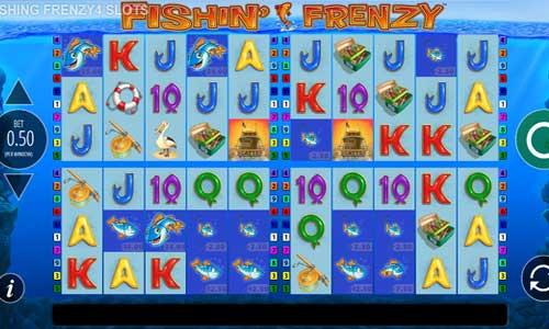 Fishin Frenzy Power 4 Slots new slot