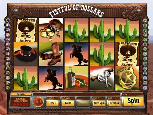Fistful of Dollars free slot