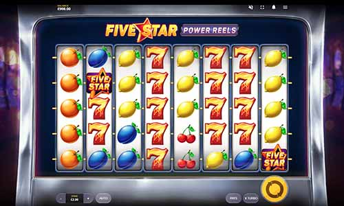 Five Star Power Reels casino slot