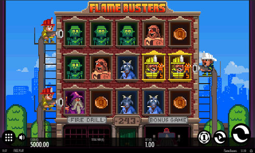 Flame Busters free slot
