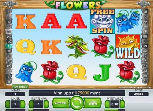 Flowers free slot