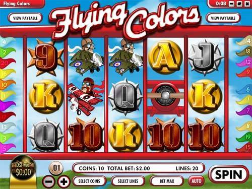 Flying Colors free slot