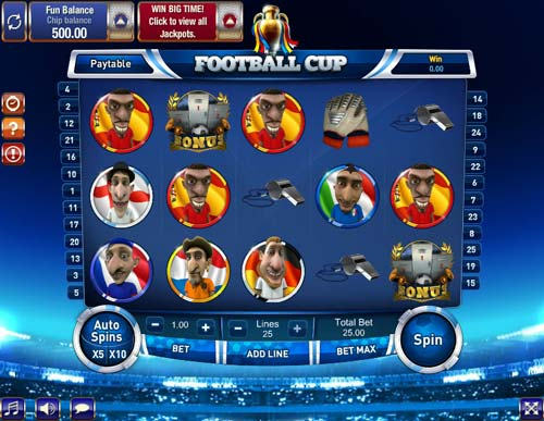 Football Cup free slot