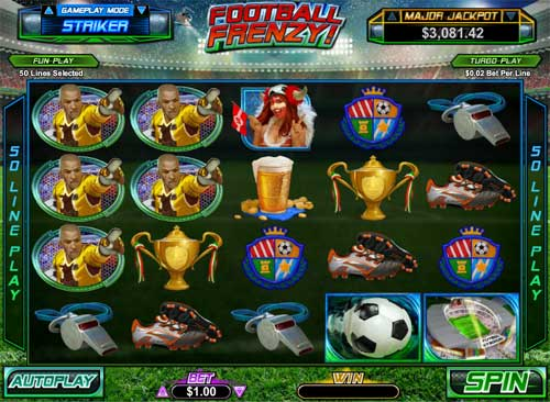 Football Frenzy free slot