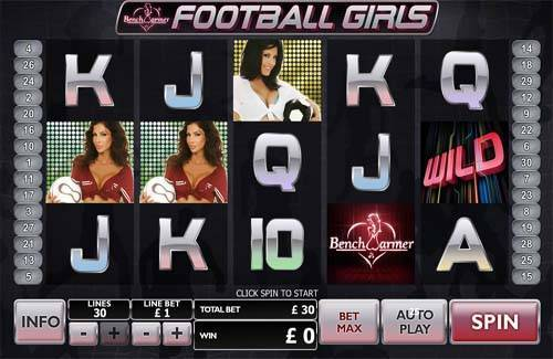 Football Girls free slot