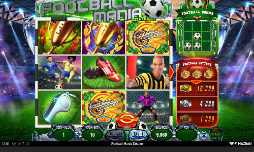Football Mania Deluxe free slot