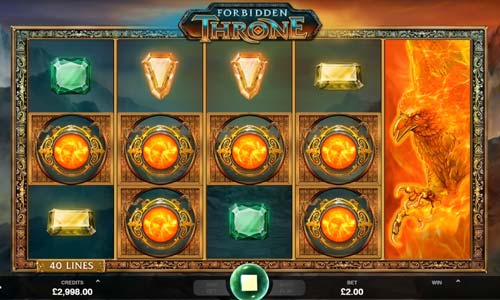 Forbidden Throne free slot