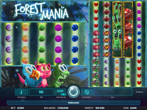 Forest Mania free slot