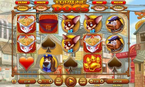 Fortune Dogs free slot