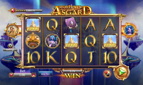 Fortunes of Asgard free slot