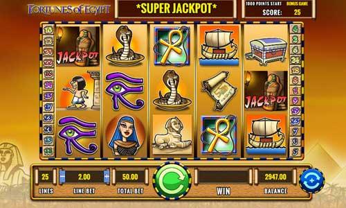 Fortunes of Egypt casino slot