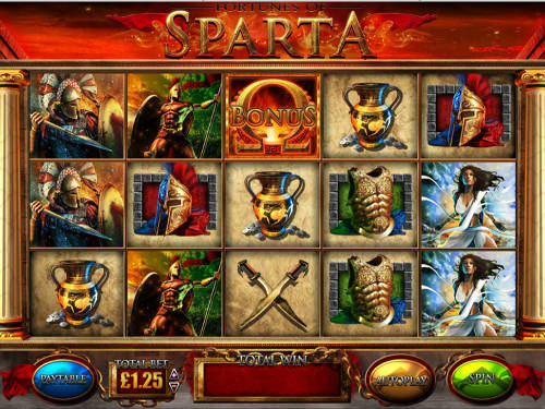 Fortunes Of Spartasticky wilds slot