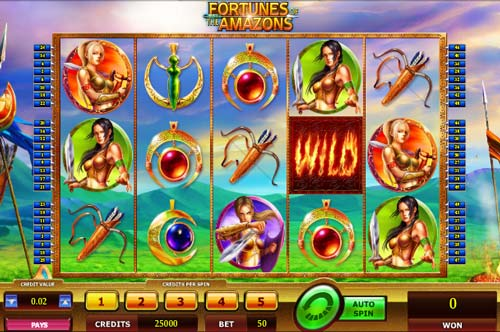 Fortunes of the Amazons casino slot