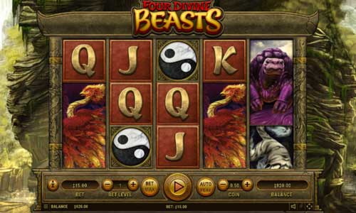 Four Divine Beasts free slot