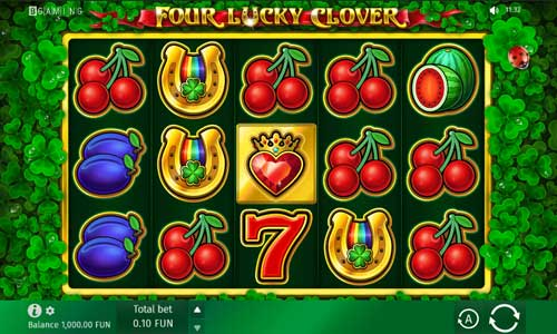 Four Lucky Clover free slot