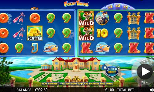 Foxin Twins free slot