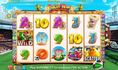 Foxin Wins Football Fever free slot