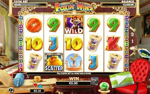 Foxin Wins free slot