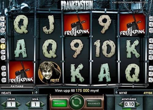 Frankenstein free slot