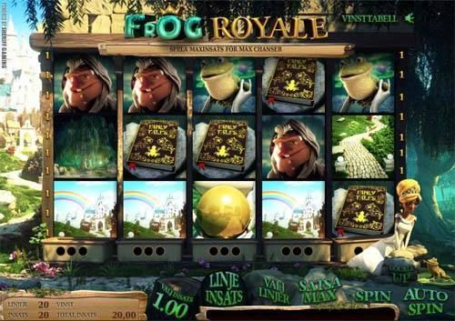 Frog Royale free slot