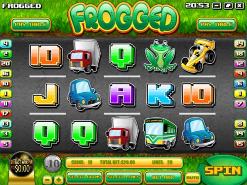 Frogged free slot