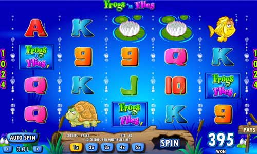 Frogs n Flies slot