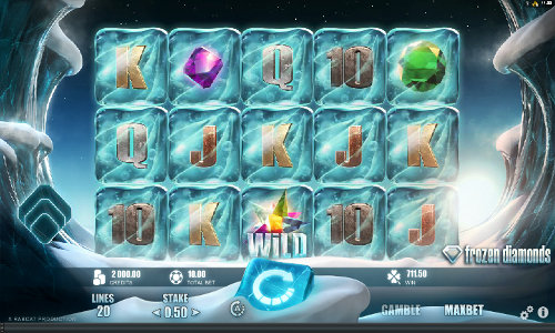 Frozen Diamonds casino slot