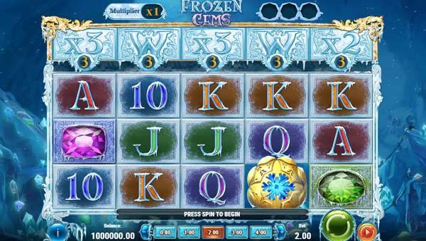 Frozen Gems free slot