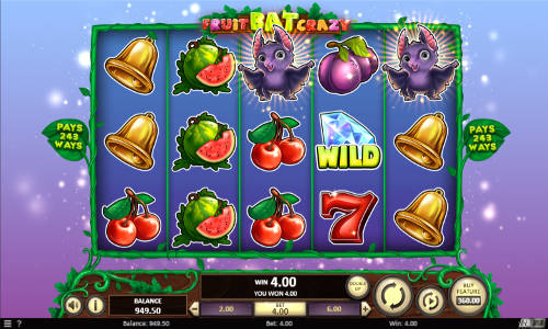 Fruit Bat Crazy free slot