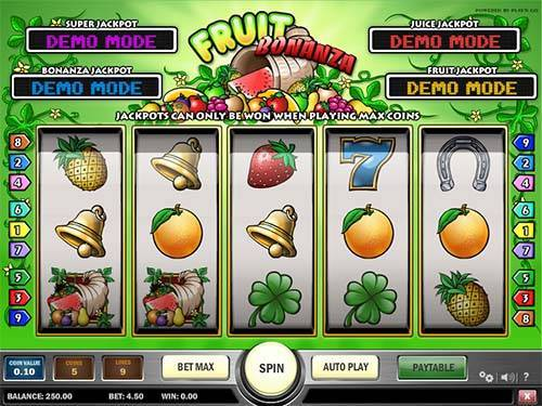 Fruit Bonanza free slot
