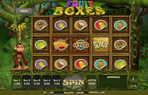 Fruit Boxes free slot