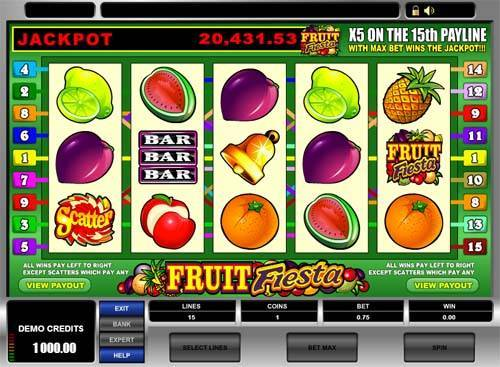 Fruit Fiesta free slot