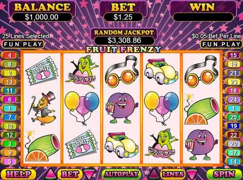 Fruit Frenzy free slot