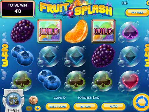 Fruit Splash casino slot