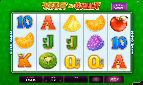 Fruit vs Candy free slot