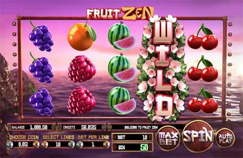 Fruit Zensticky wilds slot
