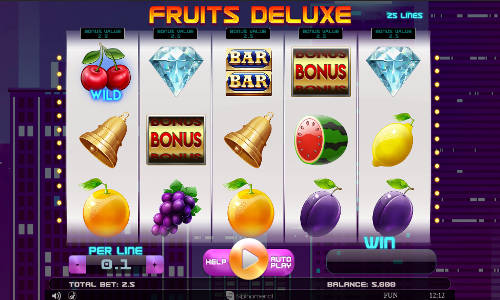 Fruits Deluxe slot